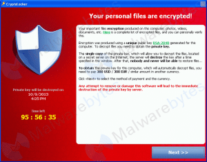 Cryptolocker Computer window Complete Network provides cybersecurity in Charlotte, NC
