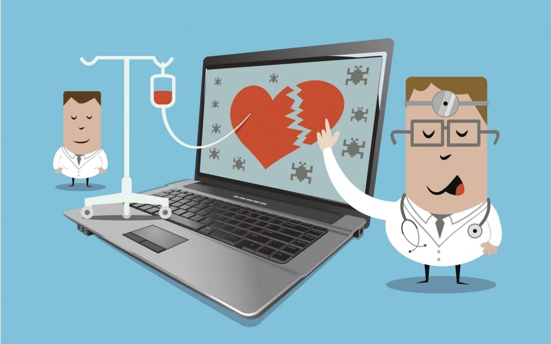 The healthcare industry is in a world of cybersecurity hurt